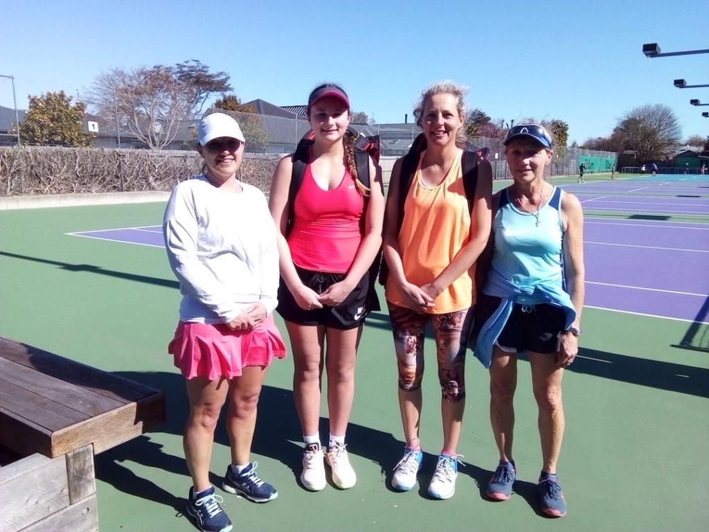 Waimairi Tennis Club club champs