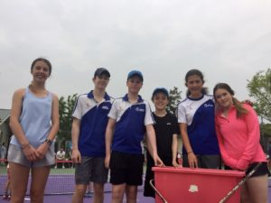 Trainee coaches-Waimairi Tennis Club